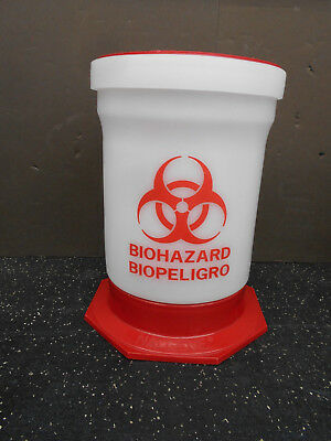 Nalgene Biohazard Container Size B  With Swivel Top