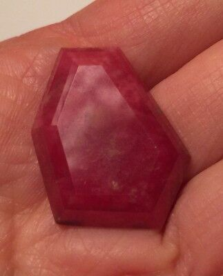 Gem Red Pink Rhodonite Cab Cabochon ~ Brazil