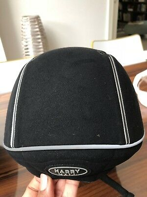 Harry Hall Legend childrens riding hat - Size 54 - Excellent condition with bag