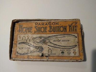 Paragon Home Shoe Button Kit