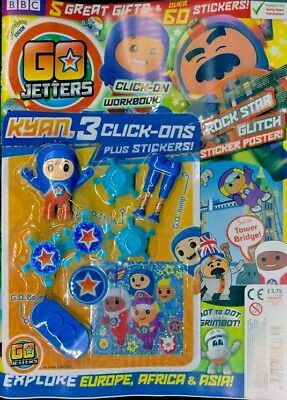 Cbeebies Go Jetters Magazine #25 - May 2018 With Gifts ~ New ~