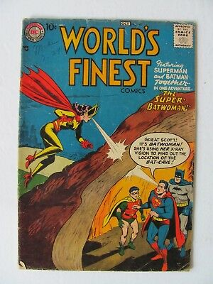 World's Finest #90  (1957)  - Batwoman's first appearance in World's Finest