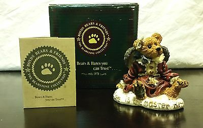 "Boyds Bear ""Guinevere The Angel..Love Is The Masterkey"" 1998 Fig w/Box & Cert"