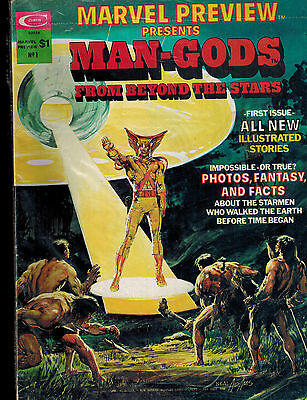Marvel Preview Presents #1 (Curtis) MAN-GODS - Neal Adams Cover