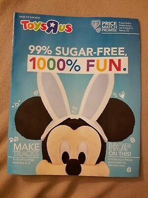 Toys R Us Last Ever Toy Catalog | Printed Newsletter Collectible Memorabilia