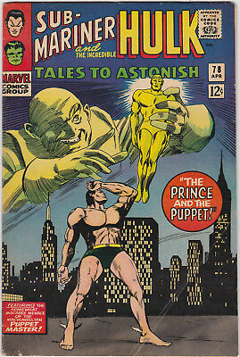 Tales to Astonish   # 78        1966         FN
