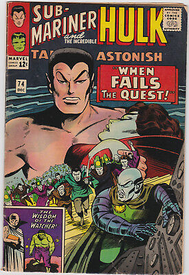 Tales to Astonish   # 74        1965         VG
