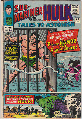 Tales to Astonish   # 70        1965          GD/VG