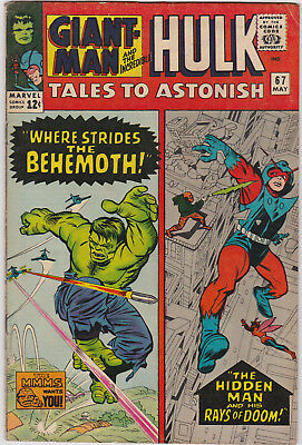 Tales to Astonish   # 67        1965         VG+