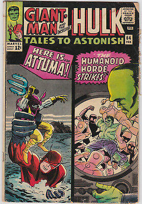 Tales to Astonish   # 64        1965          GD/VG