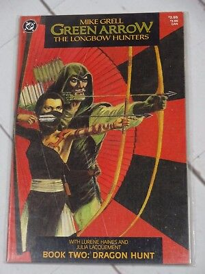 Green Arrow The Longbow Hunters (1987) 2nd Printing #2 Bagged and Boarded - C525