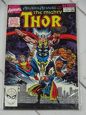 Marvel Comics The Mighty Thor Annual Issue #14 1989 Bagged and Boarded - C2072
