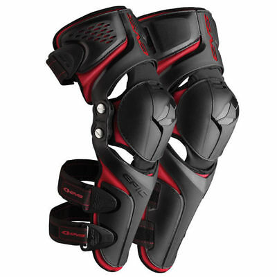 EVS Mx Gear Epic Pivot Kneeguards Motocross Dirt Bike BMX MTB Knee Guards
