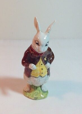 Alice in Wonderland White Rabbit Beswick Royal Doulton Figure Dated 1974 (as is)