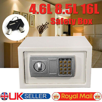 New Heavy Duty Security Home Office Hotel Cash Deposit Document Safety Safe Box