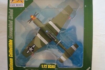 Model Aircraft - Boxed - Assembled 1:72 Scale - Display - P-510 Mustang IV