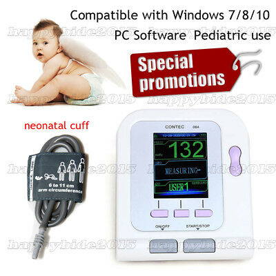 Upper Arm Blood Pressure BP Monitor Electronic Sphygmomanometer,baby use