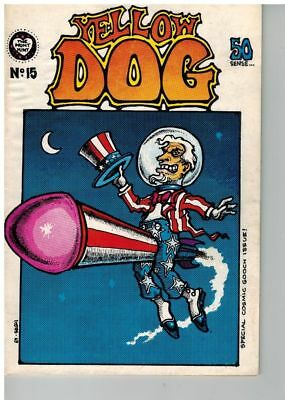 "Yellow Dog  - 1969 - # 15 Special Comic Gooch Issue!  ""50 Sense"" R Crumb"