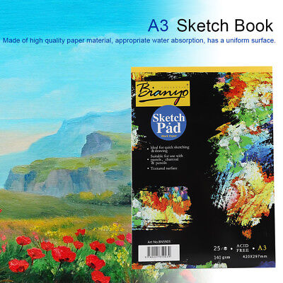 A3 A4 Artist Sketch Book Watercolor Paper Notepad For Painting Drawing Notebook