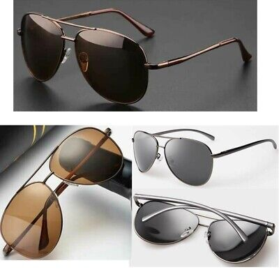 Men Women Retro Polarized Sunglasses Fashion Pilot Driving UV400 Glasses Eyewear