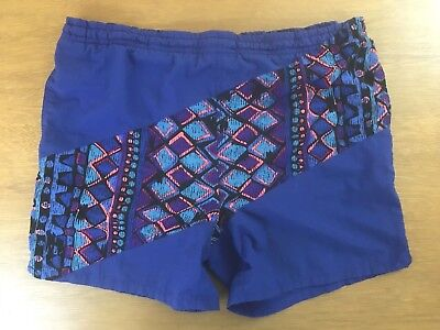 Vintage PONY Neon 80s / 90s Swim Trunks Shorts Men's Size Large