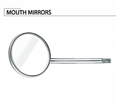10PCS Dental Instrument Diagnotic Mouth Mirror Anti-Heat Magnifying WHOLE SALE