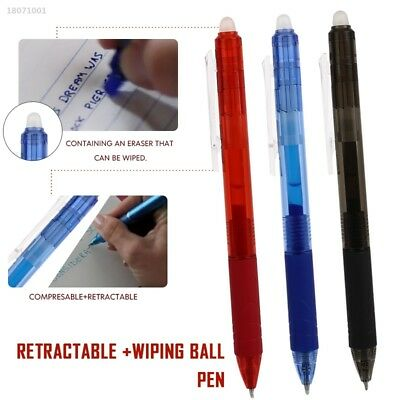 Retractable 0.5mm with Eraser Erasable Gel Pens Universal Creative Drafting 3B01