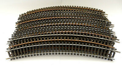 20 PIECES OF CURVED TRACK...220mm L