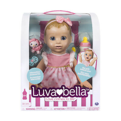 Luvabella Blonde Doll - Brand New Free Shipping