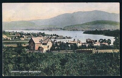 Tasmania • Unused Mcvilly & Little Postcard • Hobart from Bellerive