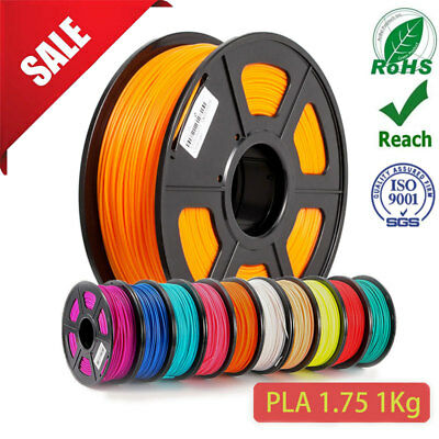 PLA 3D Printer Filament 1.75mm 1kg Free Shipping Melbourne Stock Fast delivery
