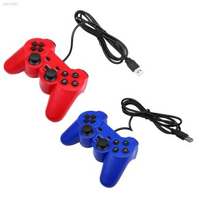 Vibration USB Wired ABS Game Controller Gamepad Joystick For Windows PC 03BB
