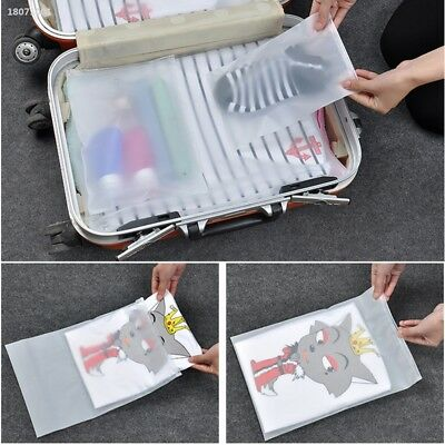 Clothes Travel Storage Bags Packing Holder Cube Sealed Luggage Organizer ED83