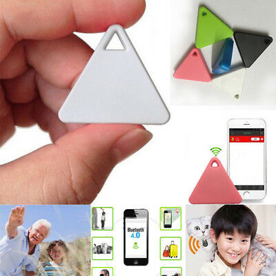 Mini Smart Bluetooth GPS Tracker Wallet Key Finder Locator Alarm Pets Children