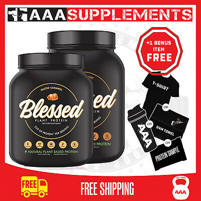 EHP Labs   Blessed 100% PLANT-BASED Vegan PROTEIN   1lb 2lb CLEAR VEGAN PEA