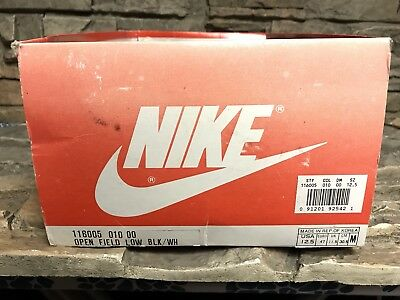 VTG OG Nike Open Field Lo Soccer Cleats 12.5
