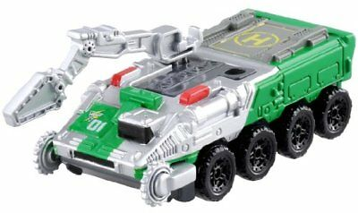 Takara Tomy Dream Tomica Hyper Green Ranger Tanser Diecast Car New from Japan