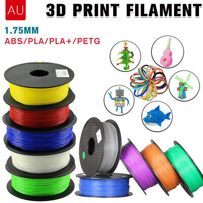 3D Printer Printing Filament PLA/ ABS/ PETG1.75mm 1KG Spool Hot Colour Accuracy