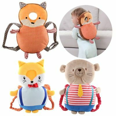 Toddler Kid Backpack Head Protective Pillow Adjustable Safety Pads Baby Walkers