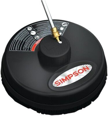 Simpson Surface Cleaner 3600 PSI 15 in. Quick Connect Plug Steel Rotating Jets