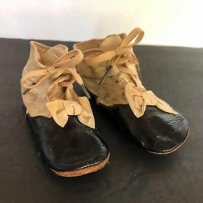 Victorian - Toddlers- Girls-  Leather Shoes with Bow