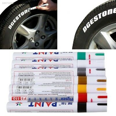 Universal Waterproof Permanent Paint Oil Marker Pen For Car Tyre Tire Tread 1F7A