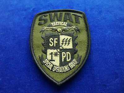 US SWAT Patch #SF 1