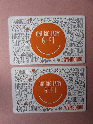 Pair of Gymboree Canada Gift Cards No Value