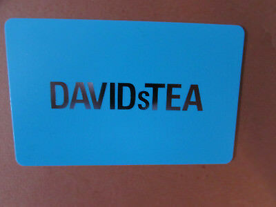 Davids Tea Gift Card Canada No Value