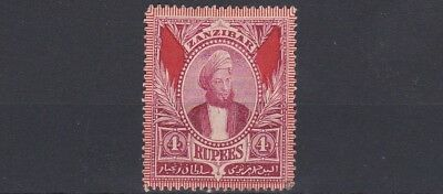 Zanzibar  1896    S G 173   4R  Lake    Unused  No Gum