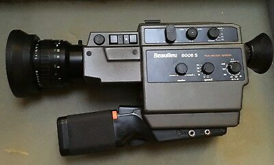 Beaulieu 6008S Super 8 Film Camera - Professional Features but still Easy to Use