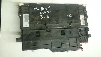 2002 BMW 3 SERIES E46 318 Ti FUSE BOX GLOVEBOX FUSEBOX 8364542 Genuine