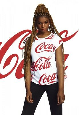 Coca Cola Ladies Coca Cola AOP Tee von XS-XL