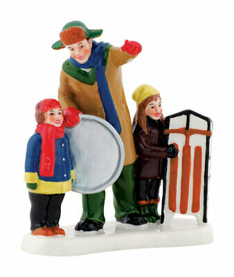 Department 56 Christmas Vacation Griswold Sled Scene Village Accessory Multicolo
